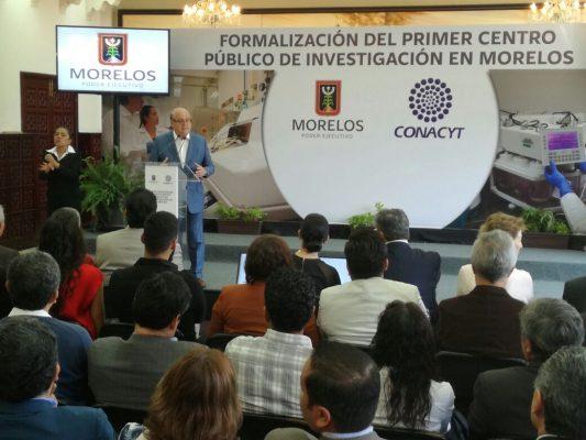 Formalizan el primer centro público de investigación