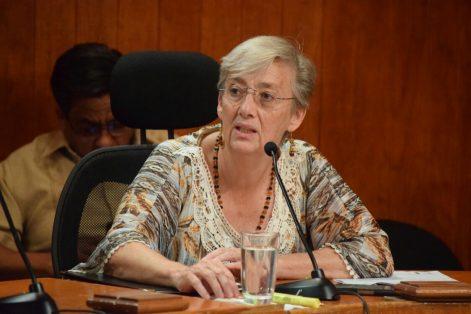 Ana Isabel León Trueba, Consejera Presidente del Impepac/ Jackeline López