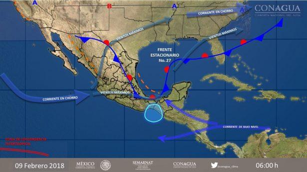 Lluvias ligeras, el pronóstico para Morelos