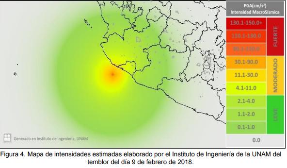 No se registran daños tras sismosde magnitud 4.5 y 5.9 en Jalisco