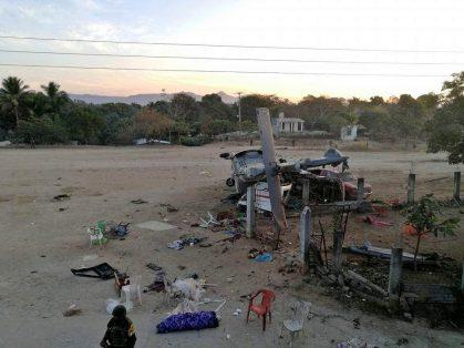 Fallecen 13 personas tras accidente aéreo en Jamiltepec