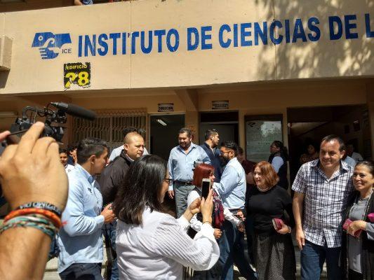 Inauguran seis aulas en el Instituto de Ciencias de la Educación