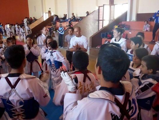 Morelos, presente en el Abierto de Taekwondo