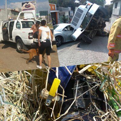 Atiende PC y Bomberos de Cuernavaca  tres emergencias
