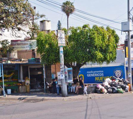 Pésimo, el servicio de recolección de basura