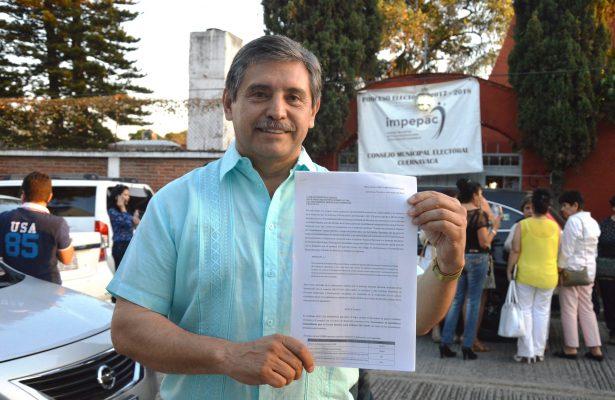 Va Urióstegui por la Alcaldía de Cuernavaca