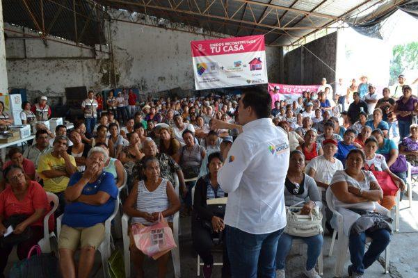 Atiende Unidos por Morelos a damnificados de Jojutla