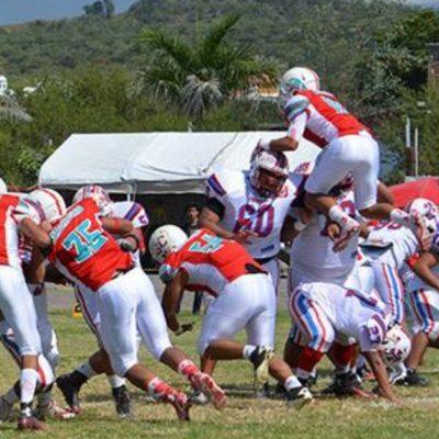 Los Mandriles buscan anotar touchdown