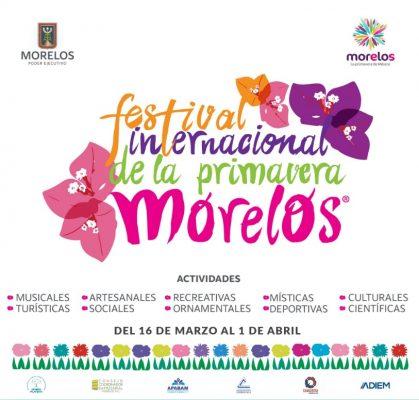 Listo el Festival Internacional de la Primavera en Morelos