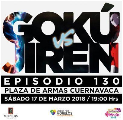 Sí proyectarán la batalla de Gokú y Jiren en Plaza de Armas