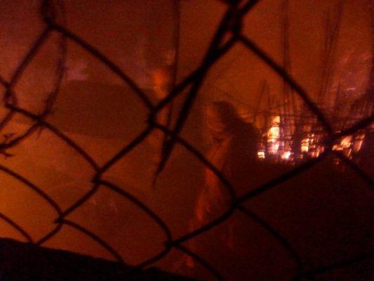 Fuerte incendio en el Centro de Cuernavaca