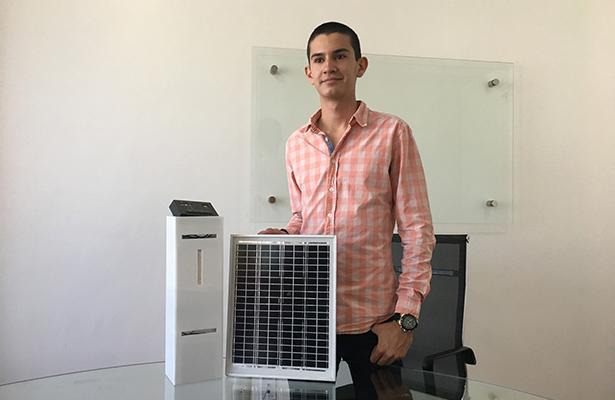 Tapatío crea innovador filtro de CO2