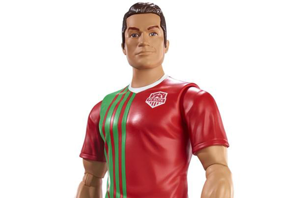 Mattel lanza figuras de acción inspiradas en futbolistas