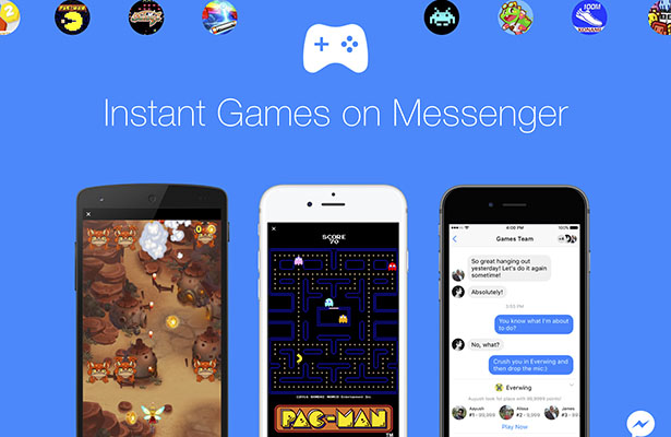 Pac-Man y Space Invaders llegan a Messenger ¡reta a tus contactos!