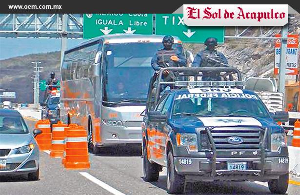 Refuerzan federales seguridad en Guerrero