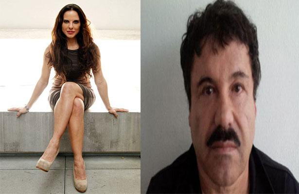 """Riesgoso ver al """"Chapo"""" Guzmán; lo haría otra vez: Kate del Castillo"""