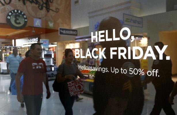 """El """"Black Friday"""" inicia la jornada con más actividad comercial del año en EU"""