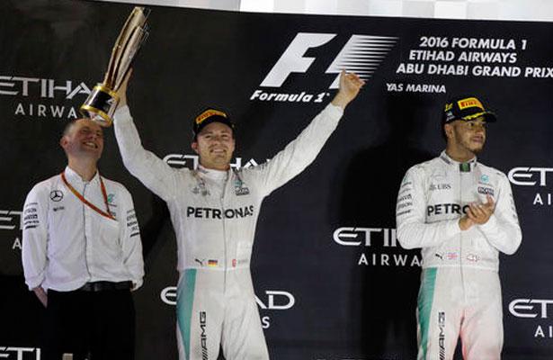 Nico Rosberg se proclama campeón de la Fórmula Uno