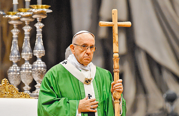 Celebrará Francisco misa para la Virgen de Guadalupe