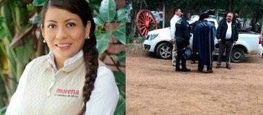 Candidata de Morena en Oaxaca logra salvarse de ataque