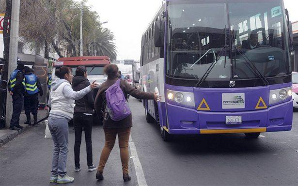 A tres días de su inauguración, desilusiona nuevo corredor Tlalpan