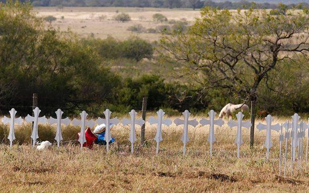 Niños y una mujer embarazada, entre víctimas de tiroteo en Texas