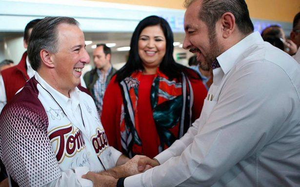 Meade  promete en Sinaloa seguir la ruta de las ideas, no la de la confrontación