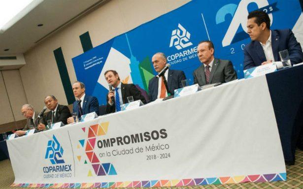 Coparmex cancela debate con candidatos presidenciales