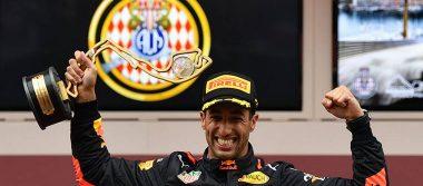 """Ricciardo gana el Gran Premio de Mónaco; """"Checo"""" Pérez termina en 12"""