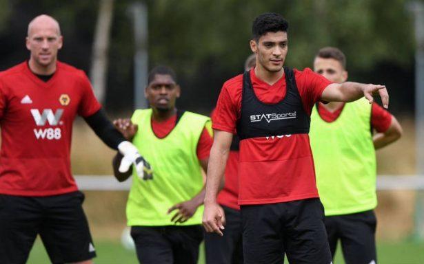 Raúl Jiménez ya entrena con su nuevo equipo Wolverhampton