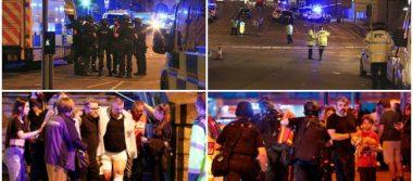 Ataque terrorista dejó 19 muertos y 50 heridos en Manchester: Policía