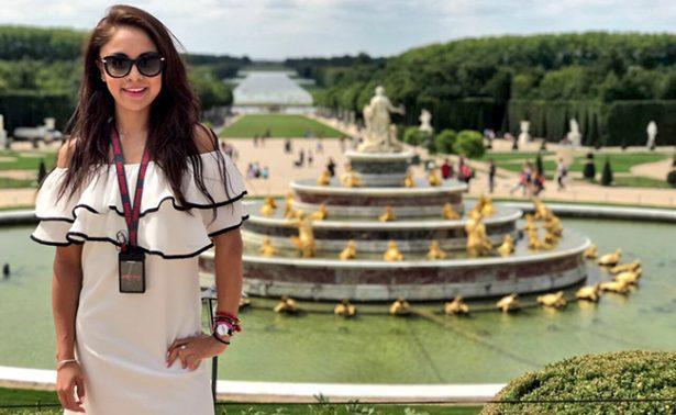 Paola Longoria disfruta sus vacaciones