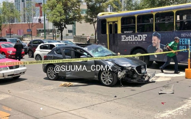 Muere ciclista atropellado frente a Centro Santa Fe