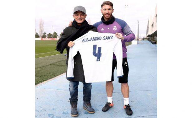 Alejandro Sanz, ¿la nueva contratación del Real Madrid?