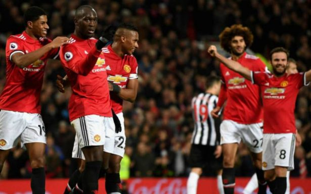 Newcastle es doblegado 4-1 por el Manchester United
