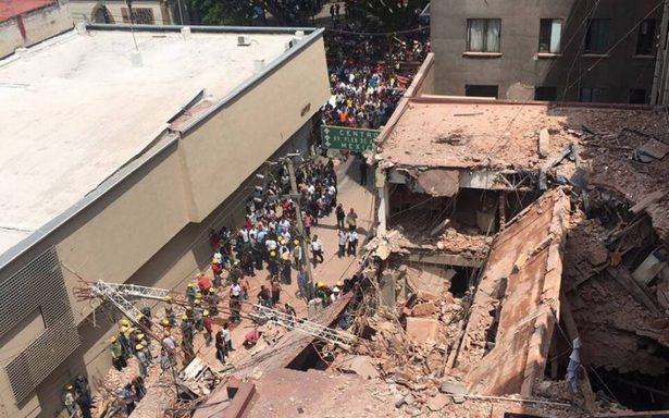 Joven duranguense murió en el sismo