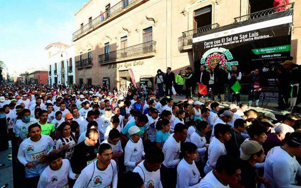 Todos corren con El Sol de San Luis: más de mil participantes en la gran carrera