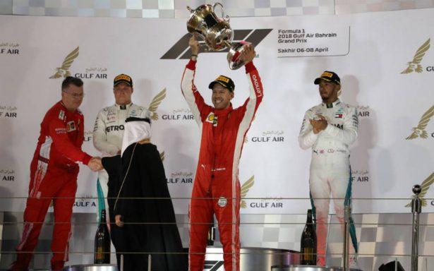 Sebastian Vettel hace valer su ley y gana en Gran Premio de Baréin