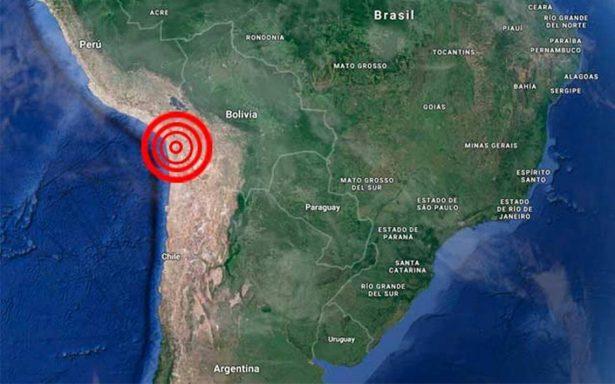 Sismo de magnitud 5.6 afecta el norte de Chile