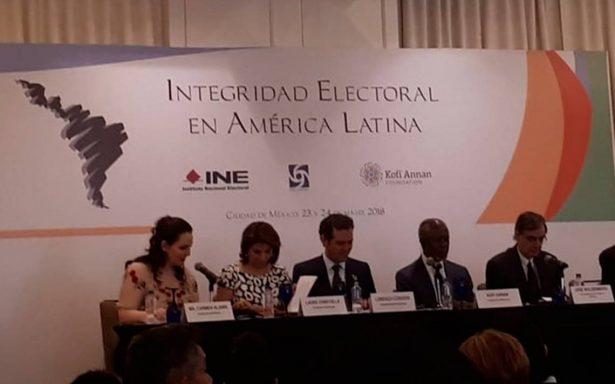 Exsecretario de la ONU llama a razonar voto para evitar populismo en México