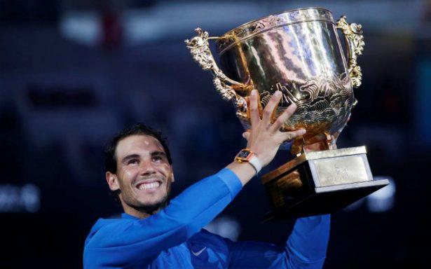 Nadal gana en Pekín el 75 título de su carrera
