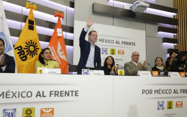 Por México al Frente registró coalición parcial y no total, para tener tiempo