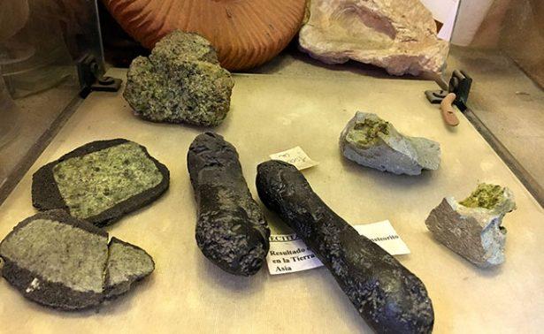 Venden fragmentos de meteoritos en la Ciudad de México
