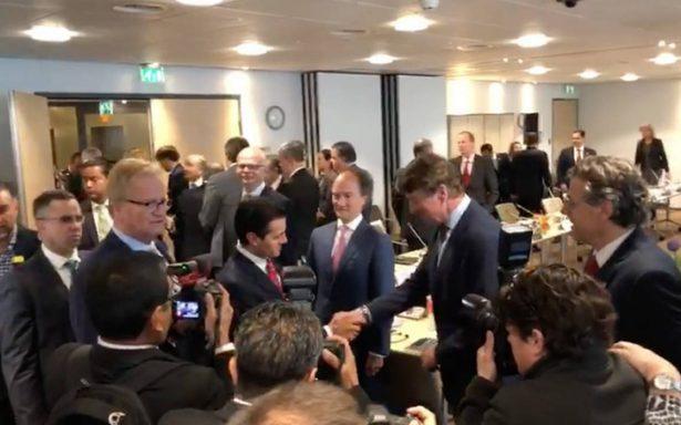 Peña Nieto tranquiliza a empresarios holandeses por proceso electoral en México
