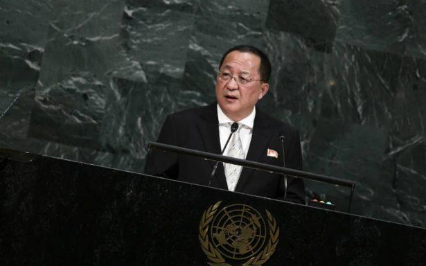 """Ataque a EU es """"inevitable"""" Corea del Norte ante ONU"""