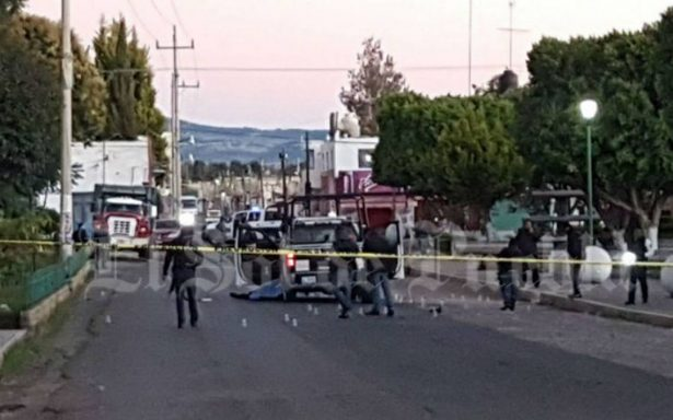 Asesinan a dos policías en San Salvador El Verde, Puebla