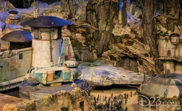 [Fotos y Video] Así será el parque de diversiones Star Wars Land