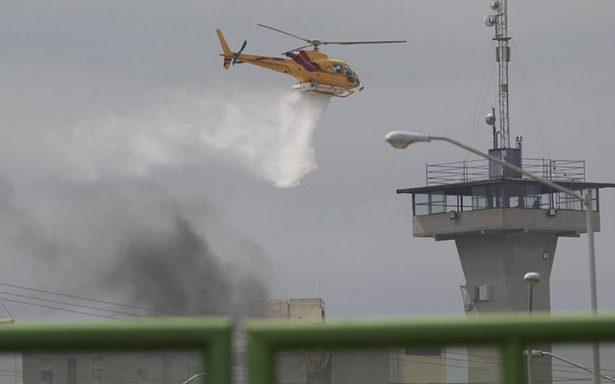 Confirman ocho heridos y un posible deceso tras disturbios en Penal de Cadereyta