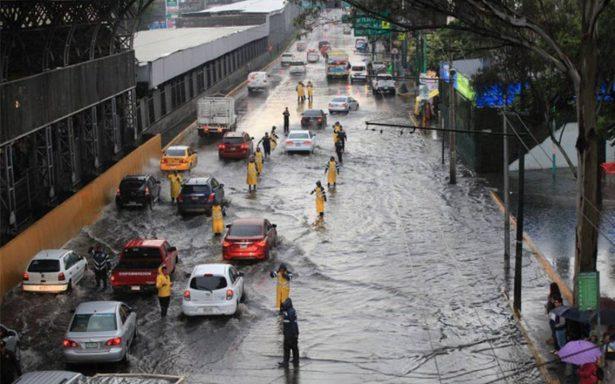 Activan Alerta Amarilla por lluvia en ocho delegaciones capitalinas