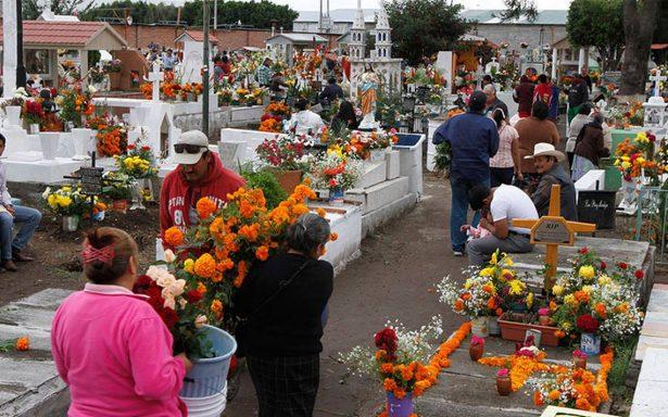 Sin incidentes en panteones de la Ciudad de México por Día de Muertos